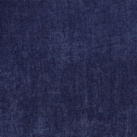 Navy blue smooth velvet upholstery fabric by the yard contemporary upholstery fabric by