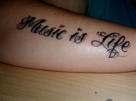 music is life tattoo my is dash berlin world