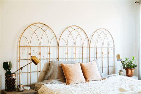 trellis headboard master bedroom makeover