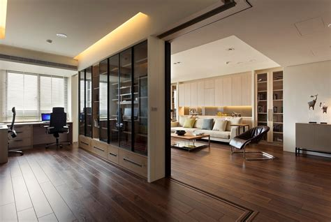 Retractable Wall | apartment with a retractable interior wall