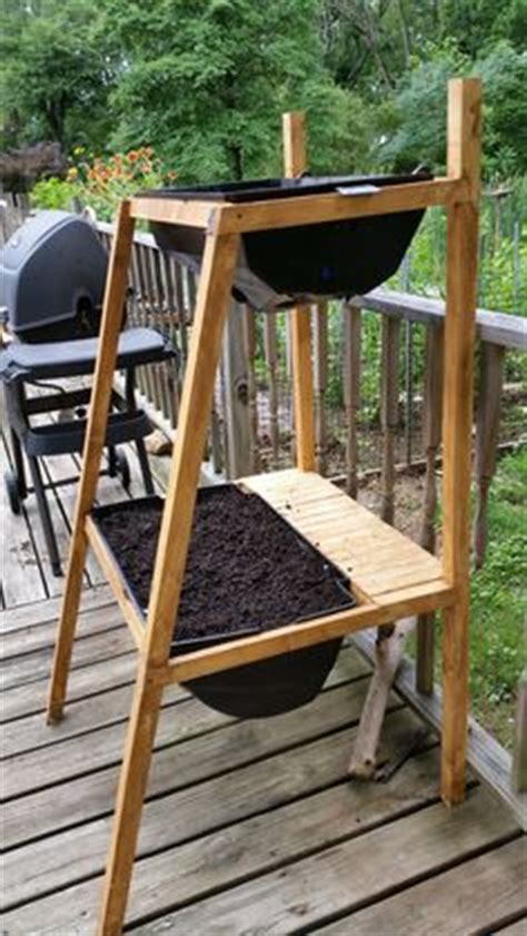 Grill Re by Charcoal Grill Repurposed Into Potting Bench Gardens