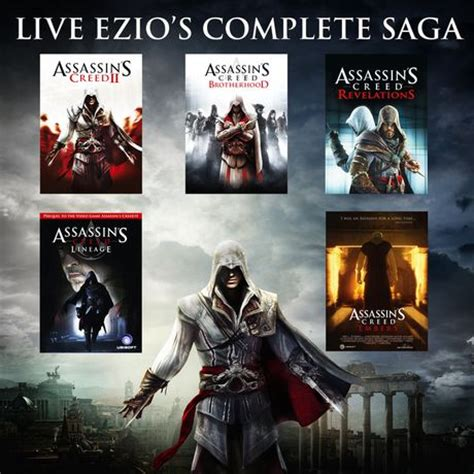 Kaset Ps4 Assassins Creed The Ezio Collection jeu vid 233 o assassin s creed the ezio collection pour ps4