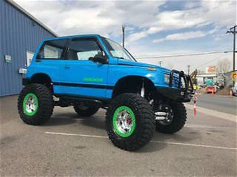 91 geo tracker custom rock crawler