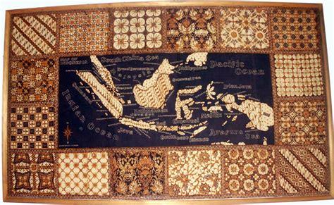 peta indonesia motif batik suguhan info saking ngayogyakarta