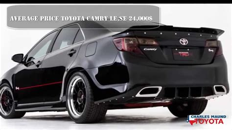 Toyota Camry Dealer Cost Tx 2014 2015 Toyota Camry Dealer Prices Bastrop