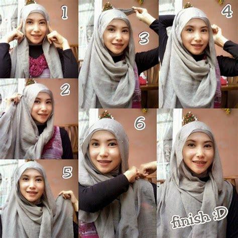 tutorial hijab veil 17 best ideas about easy hijab tutorial on pinterest