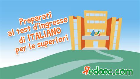 test d ingresso italiano liceo scientifico test di ingresso di italiano preparati per la prima