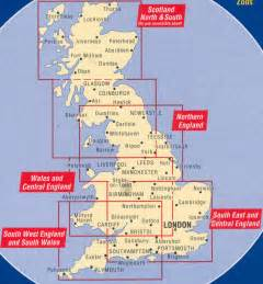 Map Of Northern England by Map England Only
