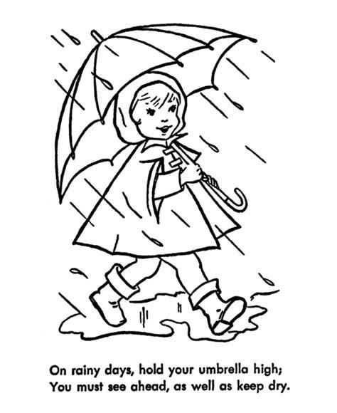 rainbow umbrella coloring page 171 funnycrafts free coloring pages of rainbow umbrella