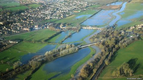 what are flood plains bbc news in pictures aerial view of northtonshire
