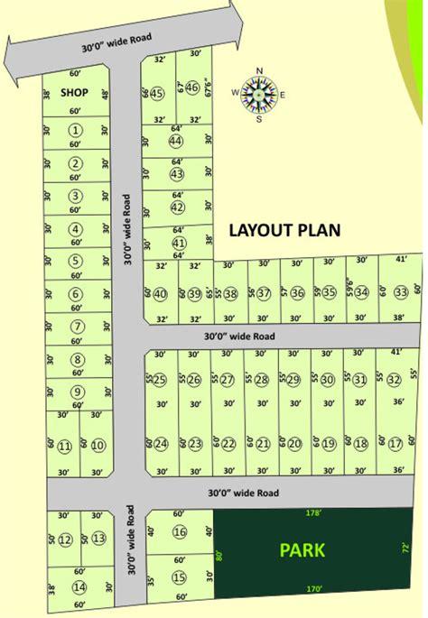 layout plan of new ashok nagar 1650 sq ft plot for sale in vetri nagar phase i