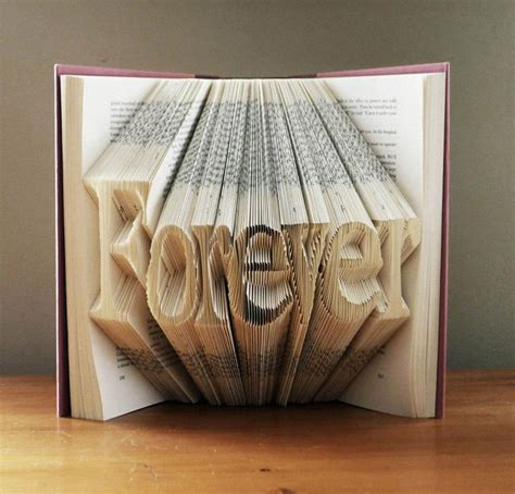 Book Paper Folding - brilliant sculptures on folded book by luciana