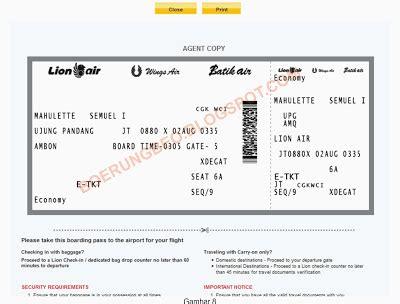 batik air confirmation number burungbeo cara checking dan pilih kursi pada penerbangan