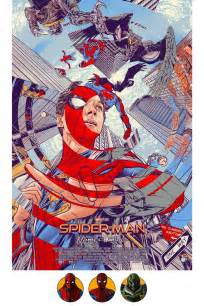 surprise mondo spider man homecoming poster sale birth