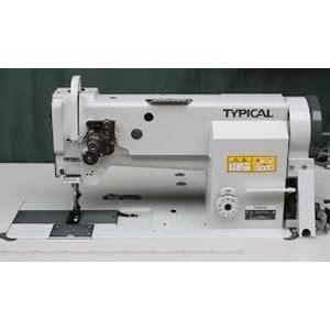 Mesin Jahit Untuk Bahan Kulit jual mesin jahit typical gc20606 harga murah jakarta oleh