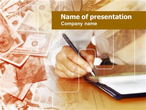 Financial Accounting Presentation Template For Powerpoint Accounting Ppt Templates Free 2