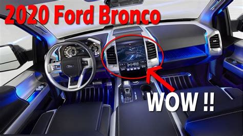 How Much Will A 2020 Ford Bronco Cost by Look This 2020 Ford Bronco Concept Release Date Price Furious