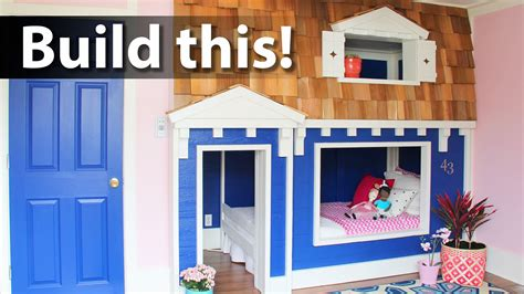 playhouse beds for bunk bed playhouse tutorial idolza