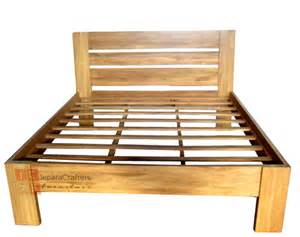 Simple Wood Bed Frame Simple Bed Frame Minimalist Teak Wood Indonesia Wholesale