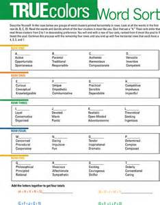 colors personality test 4 color personality test pdf