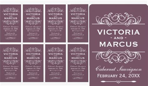 free wedding wine label template 80 best creative designs of wine labels stickers gallery for free premium templates