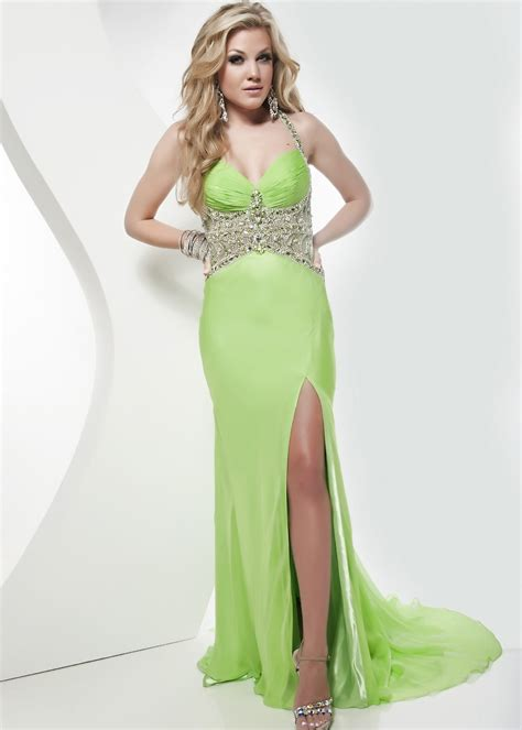 green cocktail image gallery neon green prom dresses