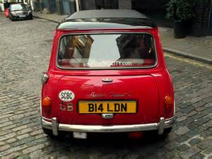Mini Cooper Hire Classic Mini Cooper Hire Tv Photoshoots And