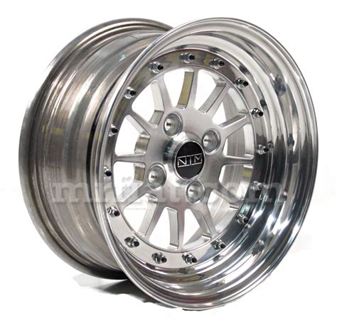 fiat 124 spider 131 a112 modular 6 x 13 forged wheel new