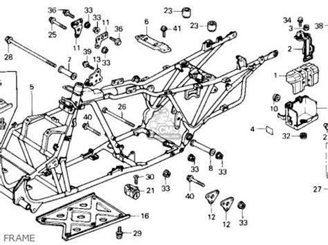 1986 honda trx 70 wiring schematic 1986 honda trx200sx