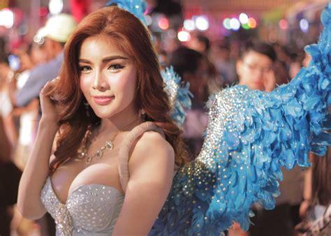 best ladyboys in thailand ladyboy cabaret performers at alcazar pattaya thailand