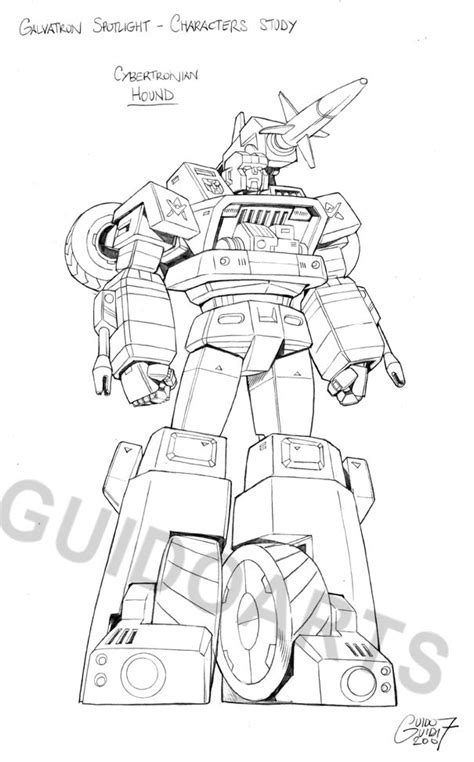 Transformers Hound Coloring Page | galvatron coloring pages coloring pages