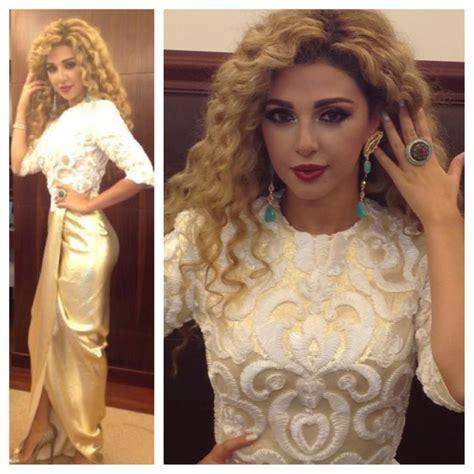 Celebrity Wedding Inspiration: Myriam Fares   Arabia Weddings