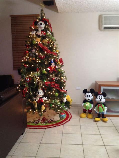 my mickey mouse christmas tree christmas pinterest