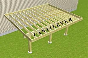 cantilevered deck can t understand your deck contractor here s help