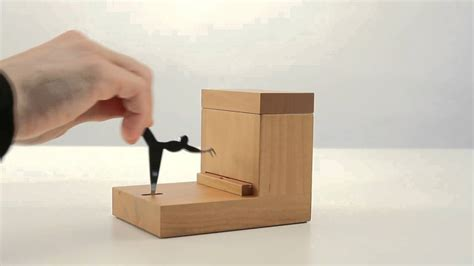 Toothpick Dispenser Alessi Pear Wood Toothpick Holder By Andrea Branzi At