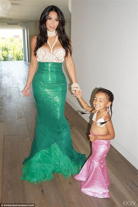 kim kardashian mermaid birthday north west celebrates her birthday with a mermaid party
