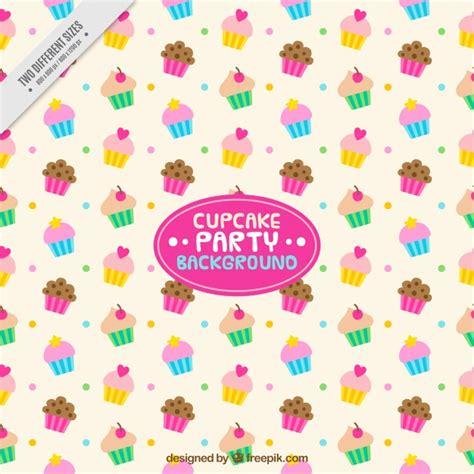 colorful cupcakes colorful cupcakes background vector free