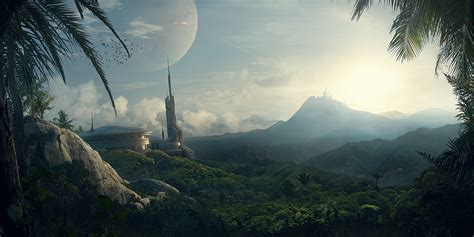 matte painting in matte painting portfolio on behance