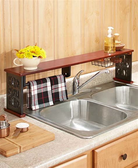 the sink shelf kitchen the sink shelf w paper towel holder home sweet