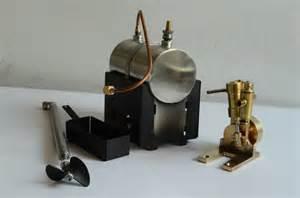 Mini single cylinder live engine with steam boiler kits ebay