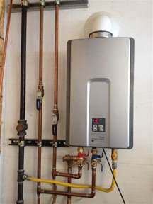 Plumbing Tankless Water Heater by Venting A Rheem Tankless Water Heater For Modern Vent