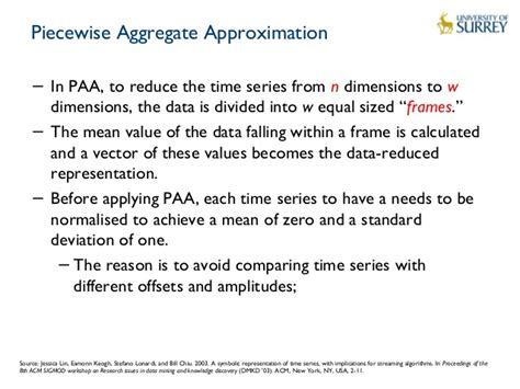 time series pattern matching algorithm intelligent data processing for the internet of things