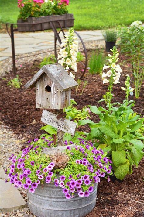 Country Garden Decor Rustic Garden Modern Style Home Design Ideas