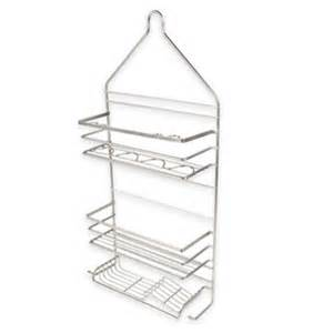 rust proof the door shower caddy buy soap caddy from bed bath beyond