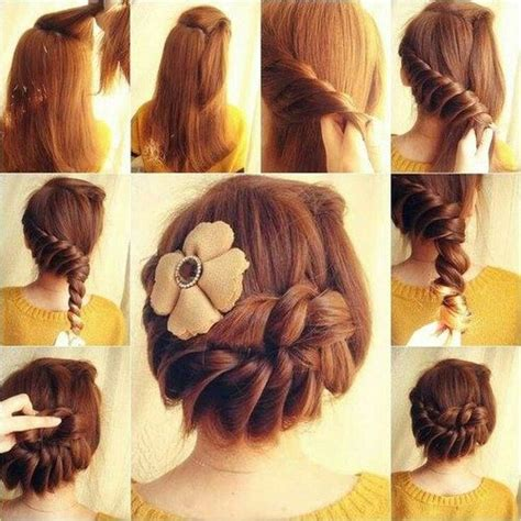 How To Make Hairstyles by Diy Braided Updo Pictures Photos And Images For