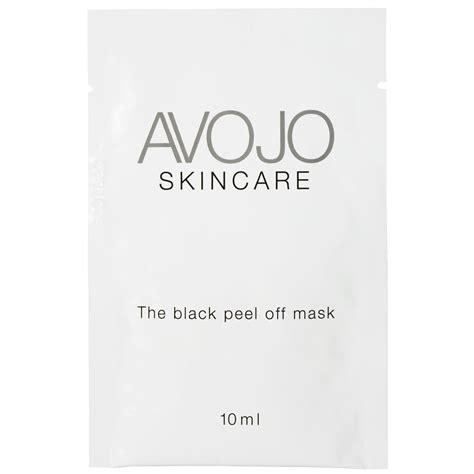 Jakolshop Masker Lumpur Black Mask 10 Sachet avojo the black peel mask sachet 10ml x 4 health thehut