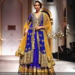 lancha dress royal blue lehenga lancha by preeeti kapoor bridal formal wear on r ux ui