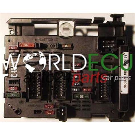 comfort controls comfort control module peugeot 307 bsm b2 9650664180