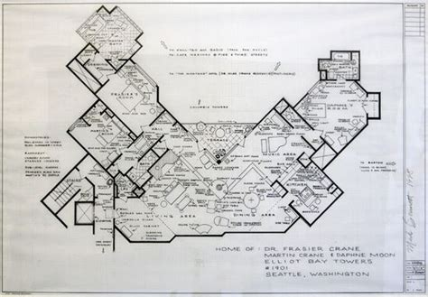 frasier apartment floor plan the world s catalog of ideas