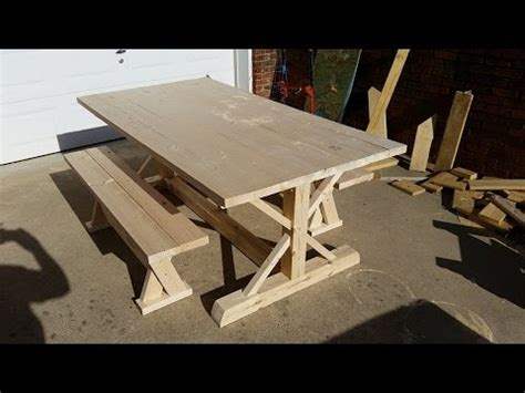 how to a farm table how to build a farm table